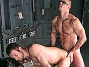 Gay porn parody featuring cock loving power bottom from Men